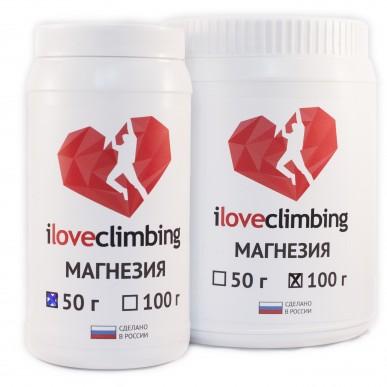 Магнезия I love Climbing туба 100гр