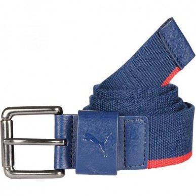 Ремень BMW Motorsport Webbing Belt синий