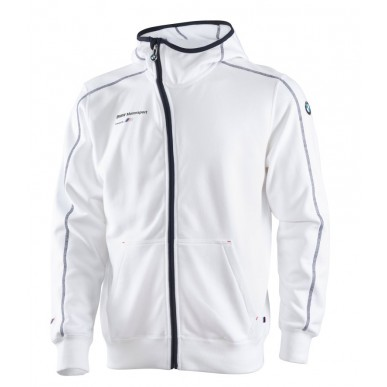 Толстовка BMW Motorsport 2013 Hooded Sweat Jacket M, белый