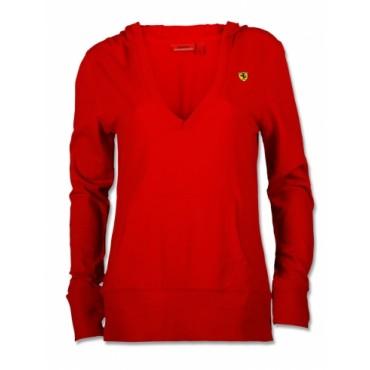 Толстовка Ferrari Kangaroo RED