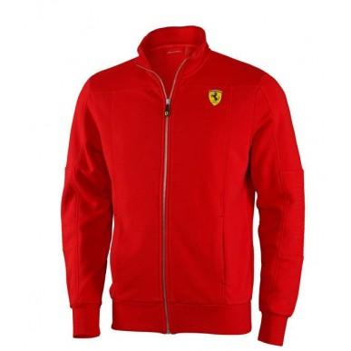 Толстовка Ferrari Zip Sweatshirt 2013, красная