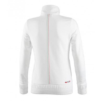 Толстовка Ferrari Zipper Jacket W, белая