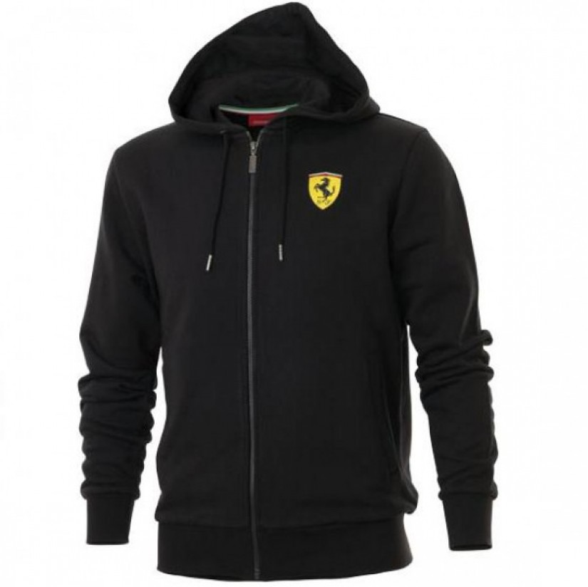 Толстовка Ferrari Sweet Jacket черная