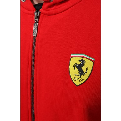 Толстовка Ferrari Sweet Jacket красная