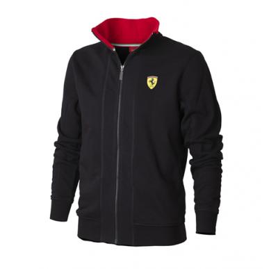 Толстовка Ferrari Zip черная