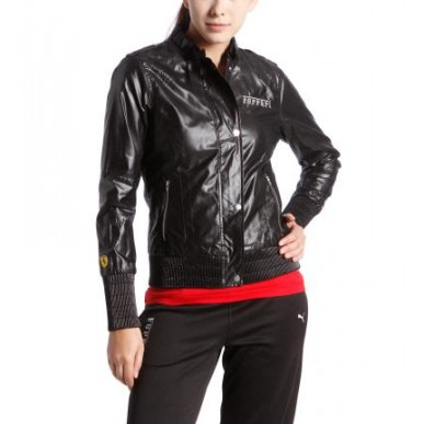 Куртка Ferrari SF Lightweight Jacket black woman