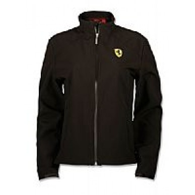 Куртка женская Softshell Scudetto Ferrari BLACK