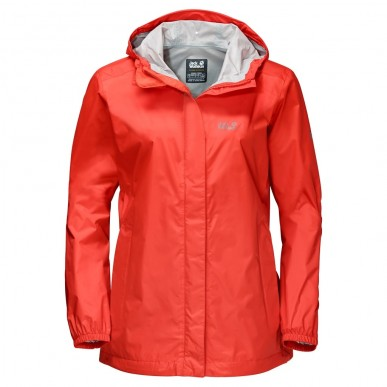 Куртка Jack Wolfskin Cloudburst W lobster red