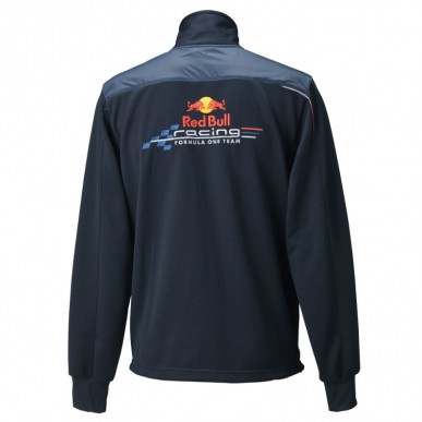 Толстовка Red Bull Race Track, т.серый