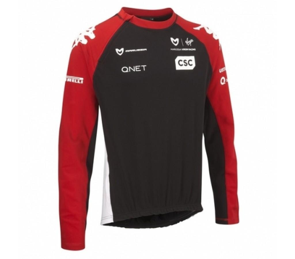 Толстовка Marussia Virgin black
