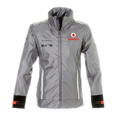 Куртка McLaren Team Waterproof серая