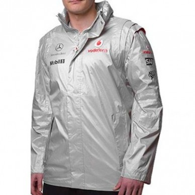 Куртка MGP Team Jacket серебро