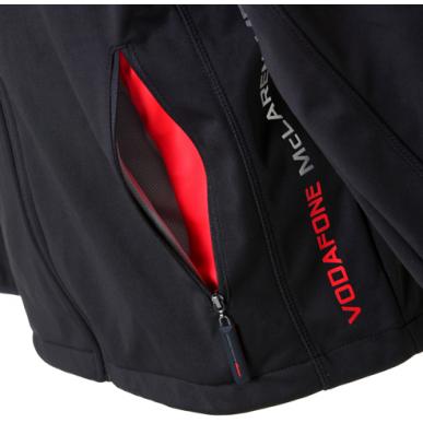 Куртка McLaren SoftShell 2012 серая