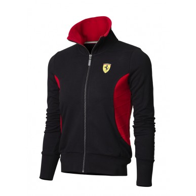 Толстовка Ferrari Zipper WOMAN BLACK