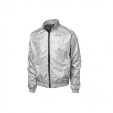 Куртка MGP Fan Bomber серебро
