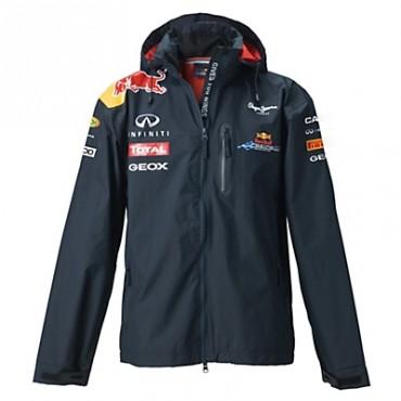 Куртка Red Bull Replica Rain Jacket синяя