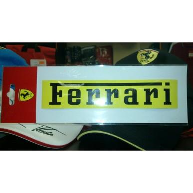 Наклейка Ferrari YELLOW