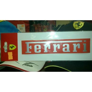 Наклейка Ferrari RED