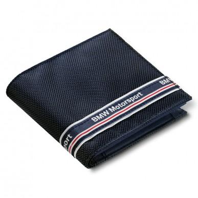 Кошелек BMW Motorsport Wallet синий