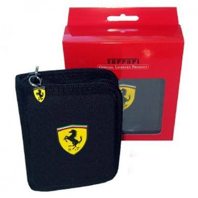 Кошелек Ferrari Wallet черный