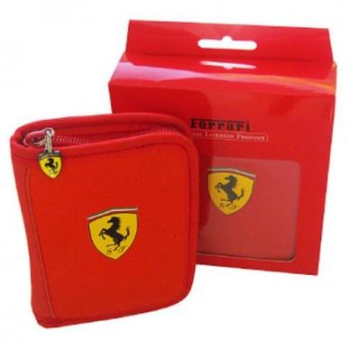 Кошелек Ferrari Wallet красный