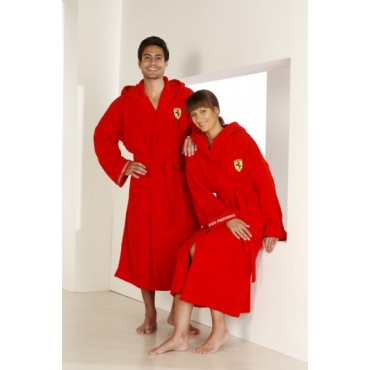 Халат Ferrari красный