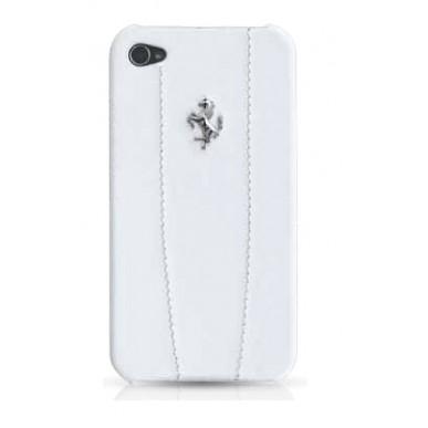 Чехол Ferrari iPhone4 Modena белый