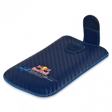 Чехол Red Bull Carbon Case синий