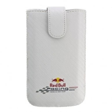 Чехол Red Bull Carbon Case белый