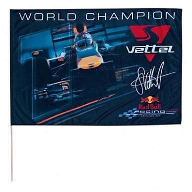 Флаг Red Bull Vettel 100*150