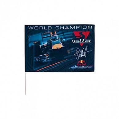 Флажок Red Bull Vettel World Champion