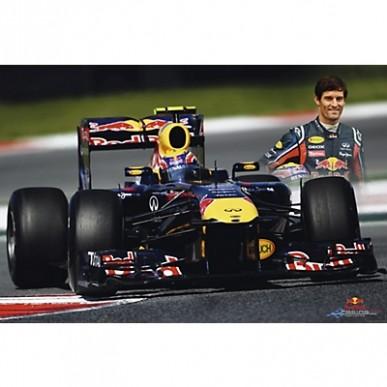 Постер Red Bull Webber Action