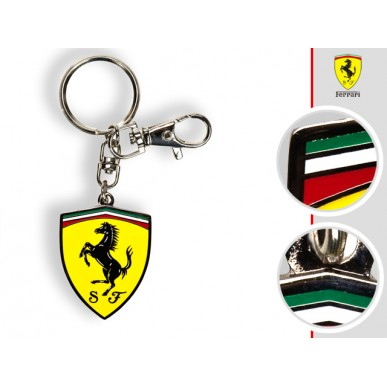 Брелок Ferrari Metallic Scudetto