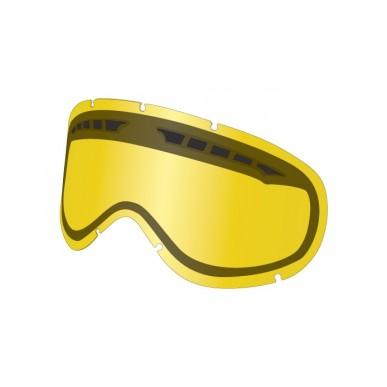 Линзы для горнолыжной маски Dragon DXS, yellow
