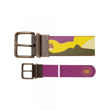Ремень 686 Fluid Reversible Belt Lt.Olive Camo Reef