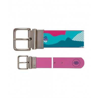 Ремень 686 Fluid Reversible Belt Teal Camo Reef