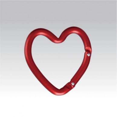 Брелок-карабин Сердце