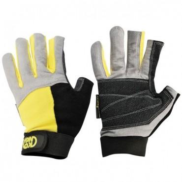 Перчатки Kong Alex без пальцев желтые
