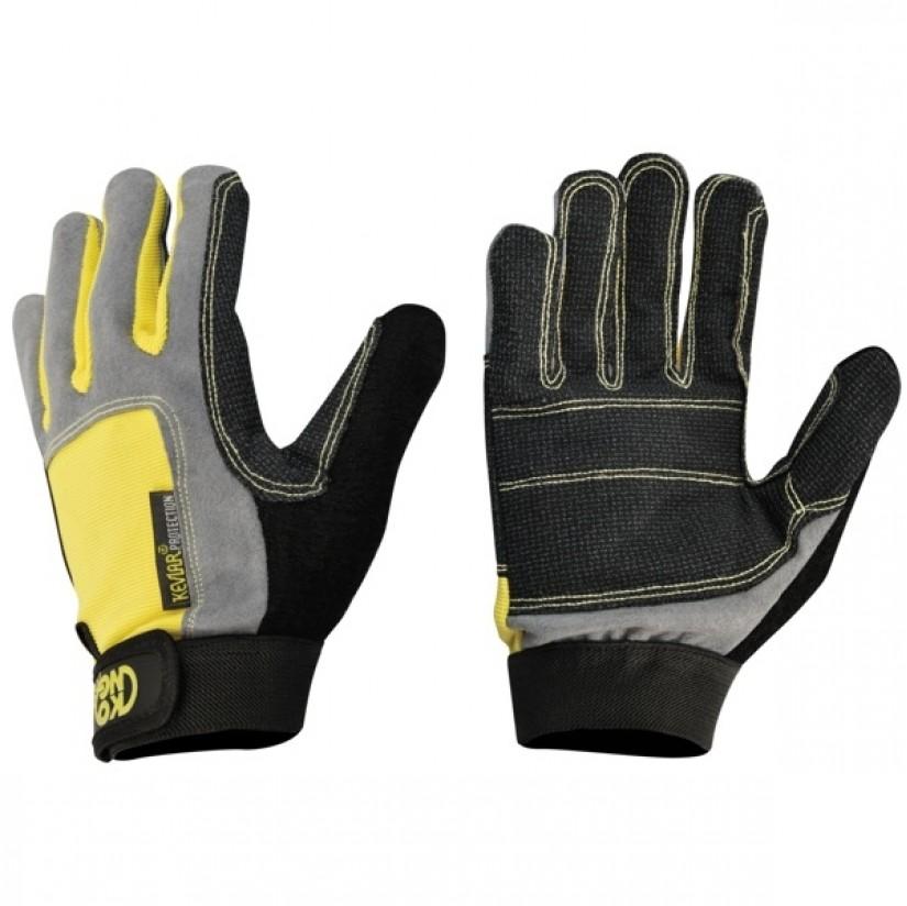 Перчатки Kong Full Gloves желтые