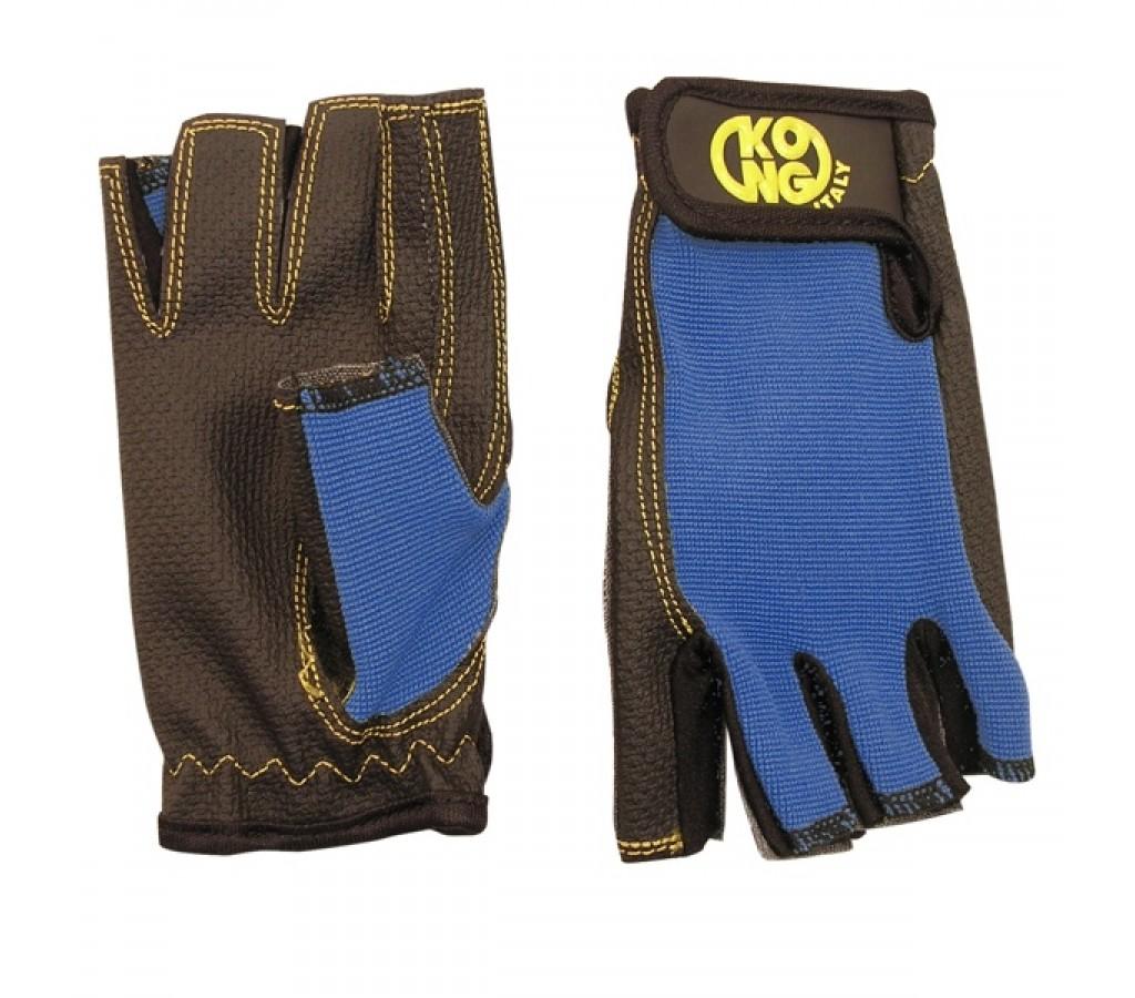 Перчатки Kong Pop синие