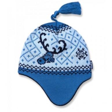 Шапка Kama B11, голубая