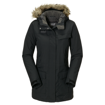 Куртка Jack Wolfskin Alberta Parka W, black