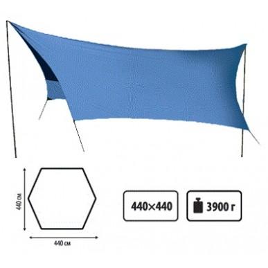 Тент SOL со стойками синий