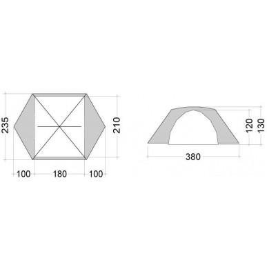 Палатка Bask Bonzer 3