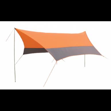 Тент SOL со стойками оранжевый