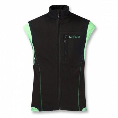 Жилет Red Fox Wind Vest II, черный/зеленый