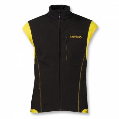 Жилет Red Fox Wind Vest II, черный/желтый