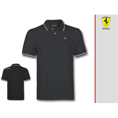 Поло Italy SF Ferrari BLACK