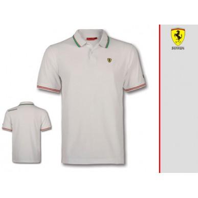 Поло Italy SF Ferrari WHITE