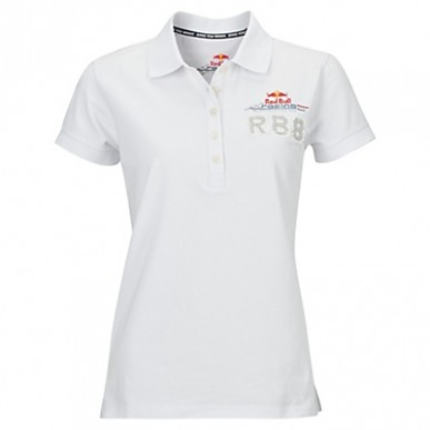 Поло Red Bull Race Polo жен белый